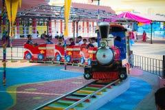 Kids train at Ramoji Film city Hyderabad. Kids corner at Ramoji Film city Hyderabad India. The Ramoji Film City in India is located in Hyderabad. Spread over royalty free stock photos