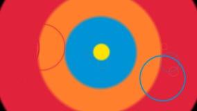 Kids Transition Circles stock footage