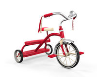 Free Kids Tricycle Isolated Royalty Free Stock Photo - 33078055