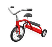 Kids Tricycle Isolated Stock Image