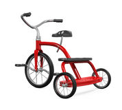 Kids Tricycle Isolated Royalty Free Stock Photo