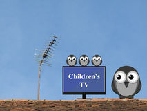 Kids TV programmes Royalty Free Stock Images