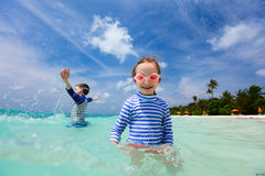 Kids on vacation Royalty Free Stock Photography