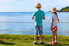 Kids on vacation Royalty Free Stock Photo