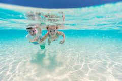 Kids on vacation Royalty Free Stock Image