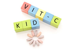 Kids Vitamins Royalty Free Stock Image