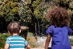 Kids watching royalty free stock image