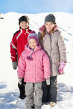 Kids in winter Stock Image