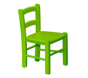 Kids wooden chair Royalty Free Stock Photos