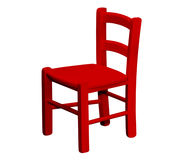 Kids wooden chair Royalty Free Stock Image