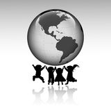 Kids of the world Royalty Free Stock Image
