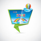 Kids zone Stock Images