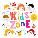 Kids zone Stock Image