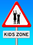 Kids zone Royalty Free Stock Photos