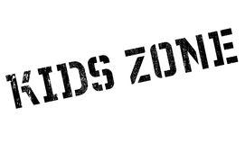Kids zone stamp Royalty Free Stock Images
