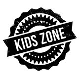 Kids zone stamp Stock Images