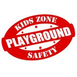 Kids zone. Stamp with text kids zone inside,  illustration Stock Image