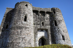 Kidwelly Castle Royalty Free Stock Photos