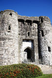 Kidwelly kasztelu gatehouse Obrazy Royalty Free