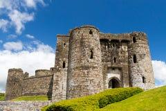Kidwelly-Schloss Wales Lizenzfreie Stockbilder