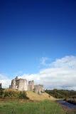 Kidwelly slott Arkivfoto