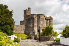 Kidwelly slott Wales Arkivfoto