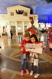 Kidzania - a worldwide network of educational parks Stock Photos