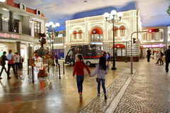 Kidzania - a worldwide network of educational parks Royalty Free Stock Photos