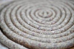 Kiełbasa w spirali obrazy royalty free