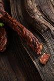 kiełbaska dymiąca Obraz Stock