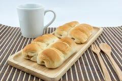 Kiełbasiany chleb Obraz Royalty Free