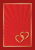 kiedy było tła można użyć valentines pocztówki Zdjęcie Royalty Free