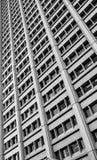 Kiedykolwiek wzrasta szyk budynków biurowych okno w Ottawa, Ontario Obraz Royalty Free