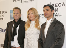 Kiefer Sutherland, Kate Hudson, and Riz Ahmed Royalty Free Stock Image