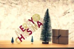 Kiefernweihnachten stockbild