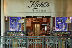 Kiehl`s store at King of Prussia Mall in Pennsylvania Royalty Free Stock Photography