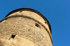 Kiek in de Kok, old artillery tower in Tallinn, Estonia. Royalty Free Stock Photo