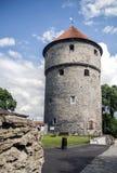 Kiek-in-de-kok tower in Tallin. Fortress tower Kiek-in-de-kok in Tallin, Estonia Royalty Free Stock Photos