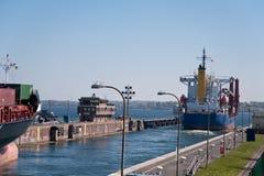 Kiel canal Stock Image