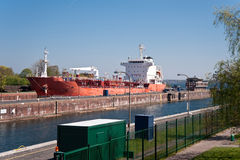 Kiel canal Royalty Free Stock Photography
