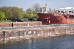 Kiel canal Royalty Free Stock Photos