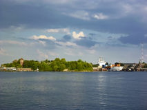 Kiel canal Stock Photography