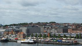 Kiel City - Port - Germany - Europe Stock Images