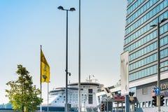 Kiel, Germania fotografia stock libera da diritti