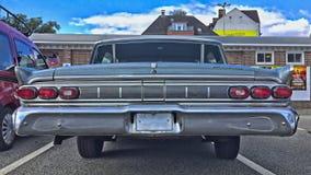 KIEL, NIEMCY - 08/27/2017: krótkopęd klasyczny Mercury samochód fotografia stock