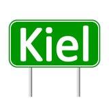 Kiel road sign. Royalty Free Stock Photos
