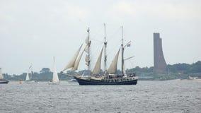 Kiel Week - Segelboot - Kiel - Deutschland - Ostsee Stockbild
