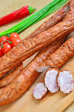 Kielbasa Stock Photo