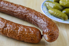 Kielbasa Photo stock