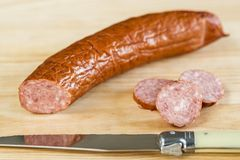 Kielbasa Royalty Free Stock Photography